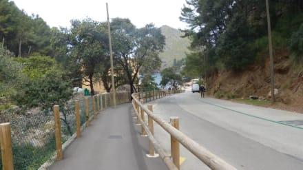 Fußweg vom Parkplatz - Bucht Sa Calobra / Torrent de Pareis
