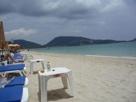 Der komplette Patong Beach - Strand Patong Beach