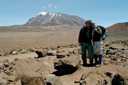 Besteigung des Kilimanjaro - Kilimanjarobesteigung
