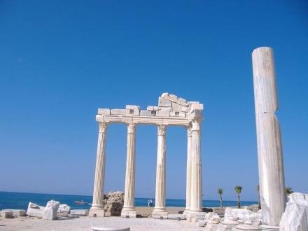 Sehenswürdigkeit von Side - Apollon Tempel