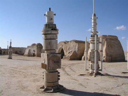 Krieg der Sterne Kulisse (NW von Nefta) - Kulisse von Krieg der Sterne / Star Wars