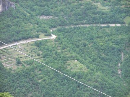 Straße von Rovereto nach Foxi ( SS46) - Vallarsa