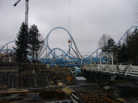 Neue Achterbahn 2009 - Europa-Park