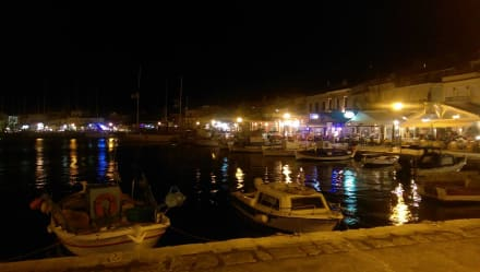 Pythagorion Hafen abends - Hafen Pythagorion