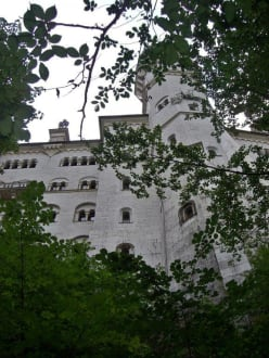 Schloss Neuschwanstein - Schloss Neuschwanstein