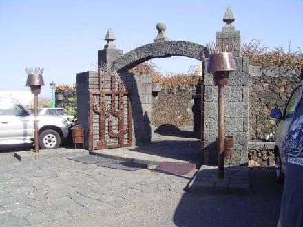 Eingang - Jardin de Cactus / Kaktusgarten Guatiza