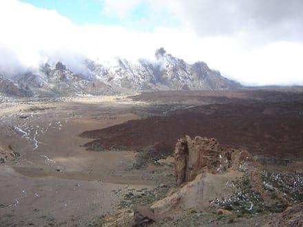 Nationalpark Teide 2.200 m über NN - Teide Nationalpark