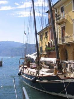 Segelschiff - Hafen Malcesine