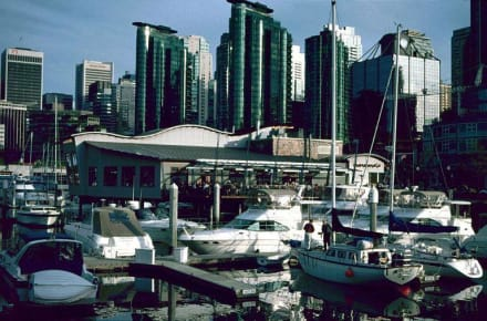 Coal Harbour Quay - Hafen Vancouver