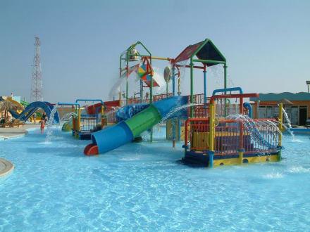 Wasserspielplatz im Aqua-Park - Titanic Aquapark