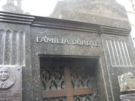 Grab Evita Peron - Cementerio de la Recoleta - Grab von Evita Peron