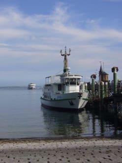 Bodensee bei Konstanz - Hafen Konstanz