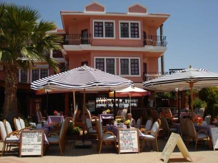 Restaurant von außen - Sunset Restaurant