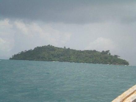 Anfahrt zur Insel - Bamboo Island
