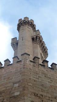 Schöne Gebäude und Fassaden - Altstadt Palma de Mallorca