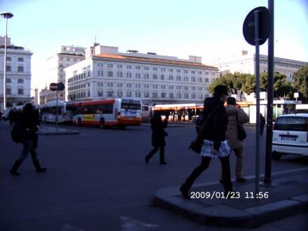 Busbahnhof Teremini - Bahnhof Termini