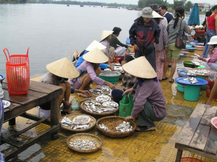 Fischmarkt in Hoi An - Markt