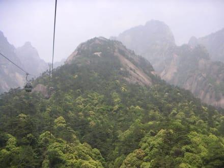 Gebirge - Huangshan Berge