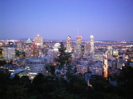 Ausblick auf Montreal - Mont Royal
