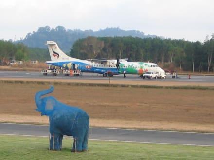 Koh = Insel, Chang = Elefant... alles klar! - Flughafen Trat (TDX)