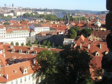 Blick von der Burg - Altstadt Prag
