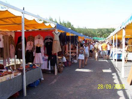 Bazar, Wochenmarkt - Afrikanischer Markt