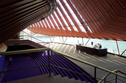 Blick in den Pausenraum - Opera House