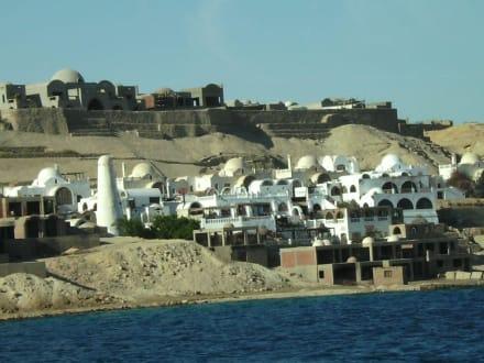 Richtung El Gouna - Ausflug nach El Gouna