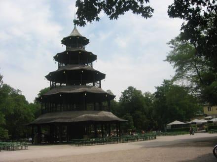 Chinesischer Turm im Englischen Garten - Englischer Garten