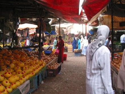 In den Souks von Agadir - Souk Agadir