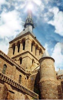 Turm von Le Mont Saint Michel - Mont Saint Michel