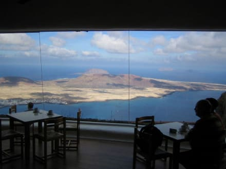 Blick aus dem Caf'e - Mirador del Río