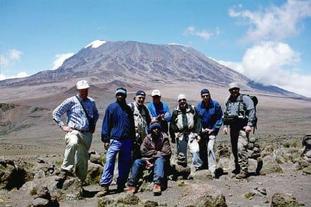 Kilimanjaro - Kilimanjarobesteigung