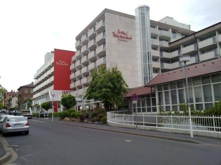 Eingang Hotel - Hotel Frankenland