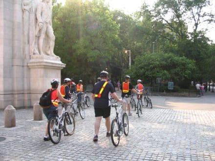 Unsere Fahrrad-Tourgruppe - Radfahren New York