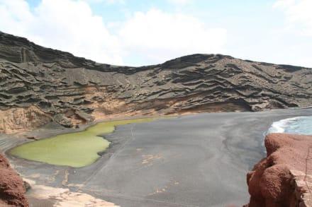 Lagune El Golfo - Charco de los Clicos / Grüner See