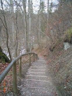 Naturtreppen - Kloster Andechs