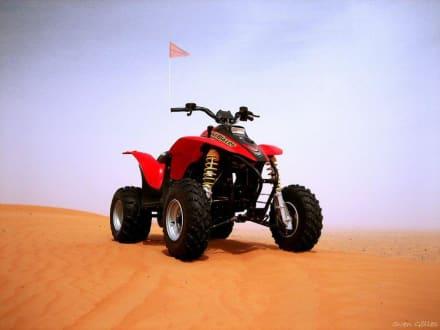 Wüstentour mit dem Quad - Quad Tour Dubai