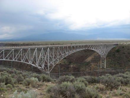 Rio Grande Gorge westlich von Taos - Rio Grande Gorge