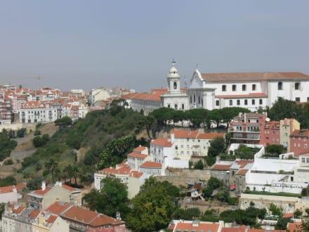 Blick von der Burg - Castelo de Sao Jorge