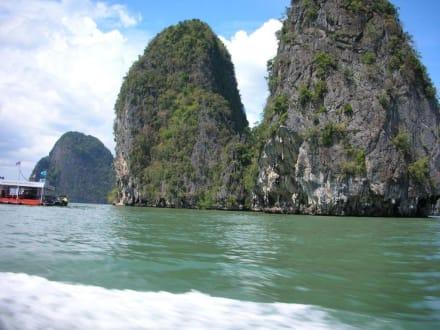 Kajakfahrt - Phang Nga Bucht/Nationalpark Ao Phang Nga
