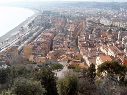Blick auf die Altstadt von Nizza - Altstadt Nizza