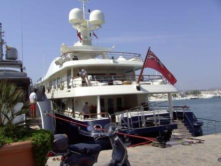 Yacht - Hafen Ibiza Stadt