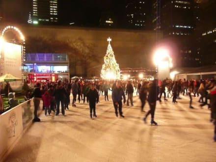 Sonstiges Freizeitbild - Rockefeller Center Ice Skating Rink