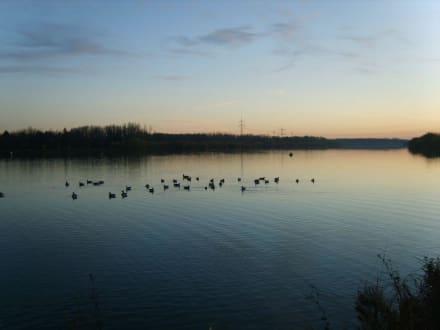 17Uhr-Sonnenuntergang - Plattling