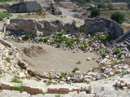 Ausgrabungen - Ausgrabungsstätte Patara