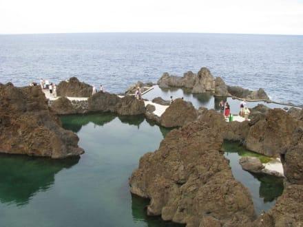 Wasserbecken - Meerwasserschwimmbecken