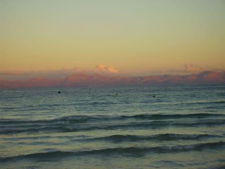 Sonnenuntergang am Strand - Strand Alcudia