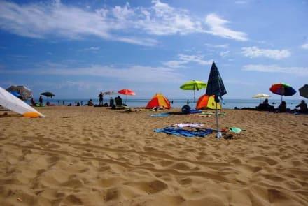 Zum Meer hin gesehen - Strand Bibione