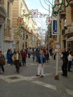 Gassen von Valetta - Altstadt Valletta